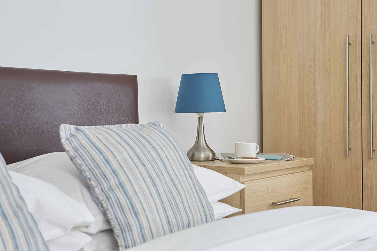 Standard Bedroom, Hotel Accommodation, Luccombe manor Country House Hotel, Isle of Wight