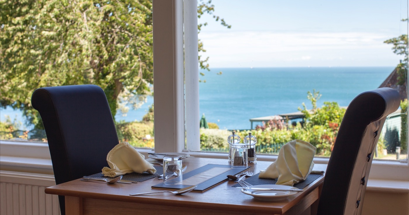 Food & Drink, Luccombe Manor Country House Hotel, Isle of Wight