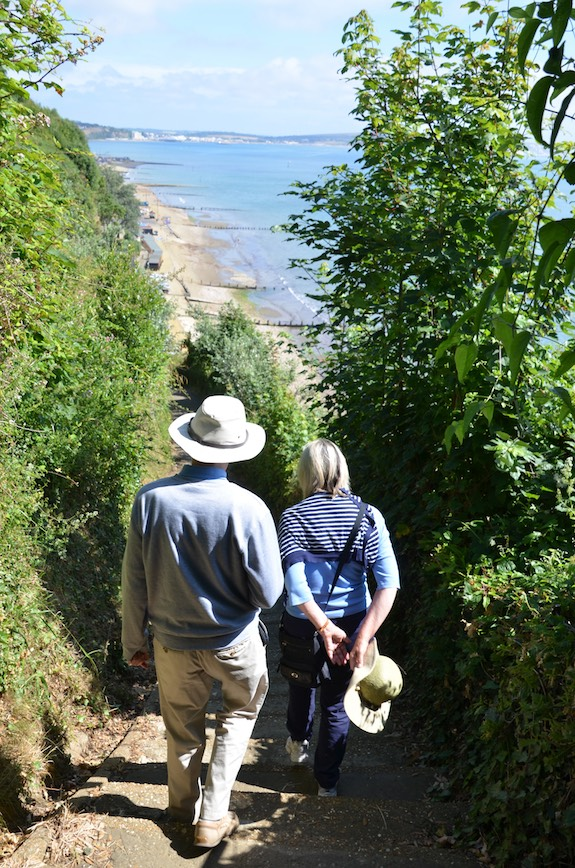 Direct Beach Access, Luccombe Manor Country House Hotel, Isle of Wight