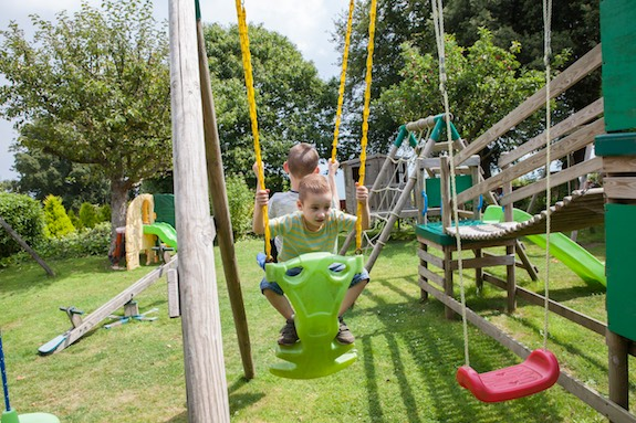 Outdoor Play Area, Luccombe Hotels, Isle of Wight