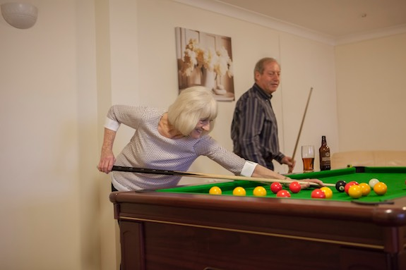 Pool Table, Luccombe Manor Country House Hotel, Isle of Wight