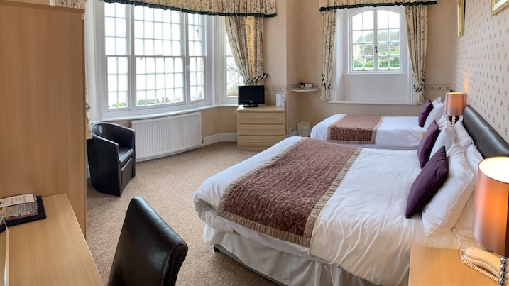 Sea View Rooms, Luccombe Manor, Shanklin, Isle of Wight