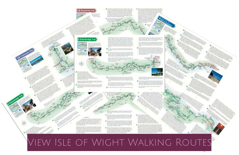View Isle of Wight Walking Routes