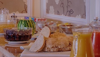 Best Rate Bed & Full English Breakfast for 2, Luccombe Manor Country House Hotel, Isle of Wight