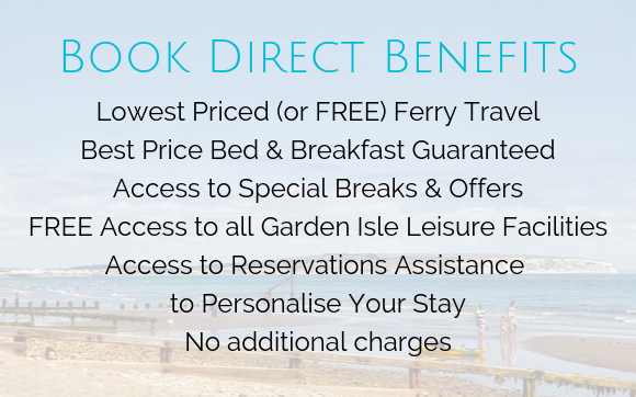 Book Direct Benefits, luccombe Manor, Garden Isle Hotels