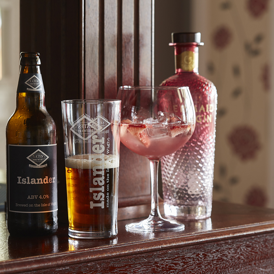 Bar, Luccombe Manor Country House Hotel, Shanklin, Isle of Wight