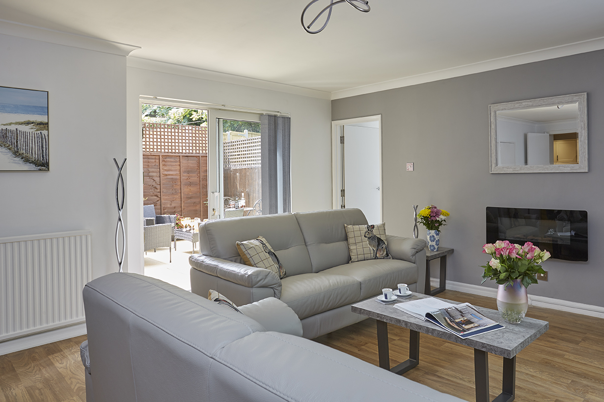 Chine Court Apartment Lounge, Luccombe Manor, Shanklin, Isle of Wight
