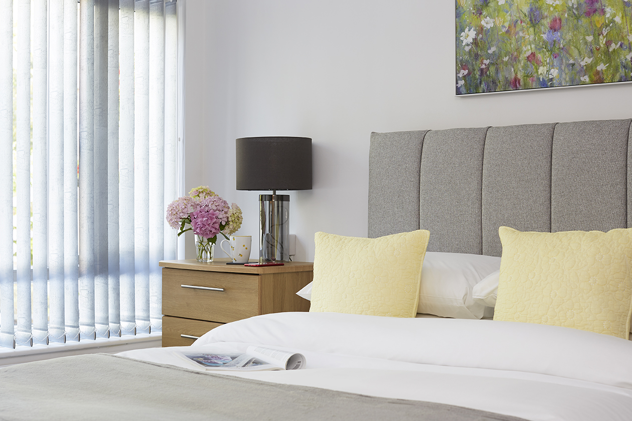 Chine Court Apartment, Master Bedroom, Shanklin, Isle of Wight