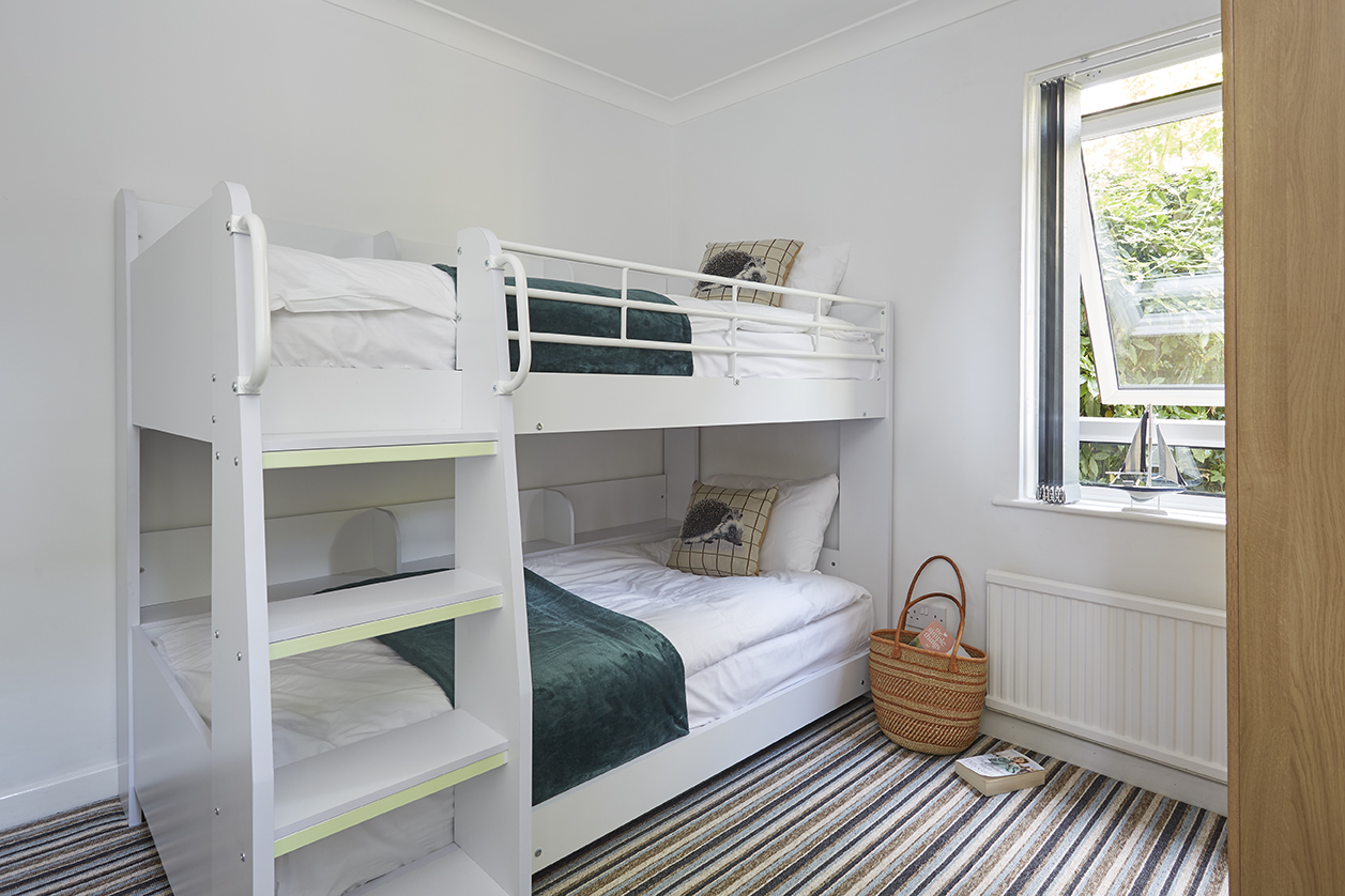Chine Court Holiday Apartment Bunk Bed Room, Shanklin, Isle of Wight