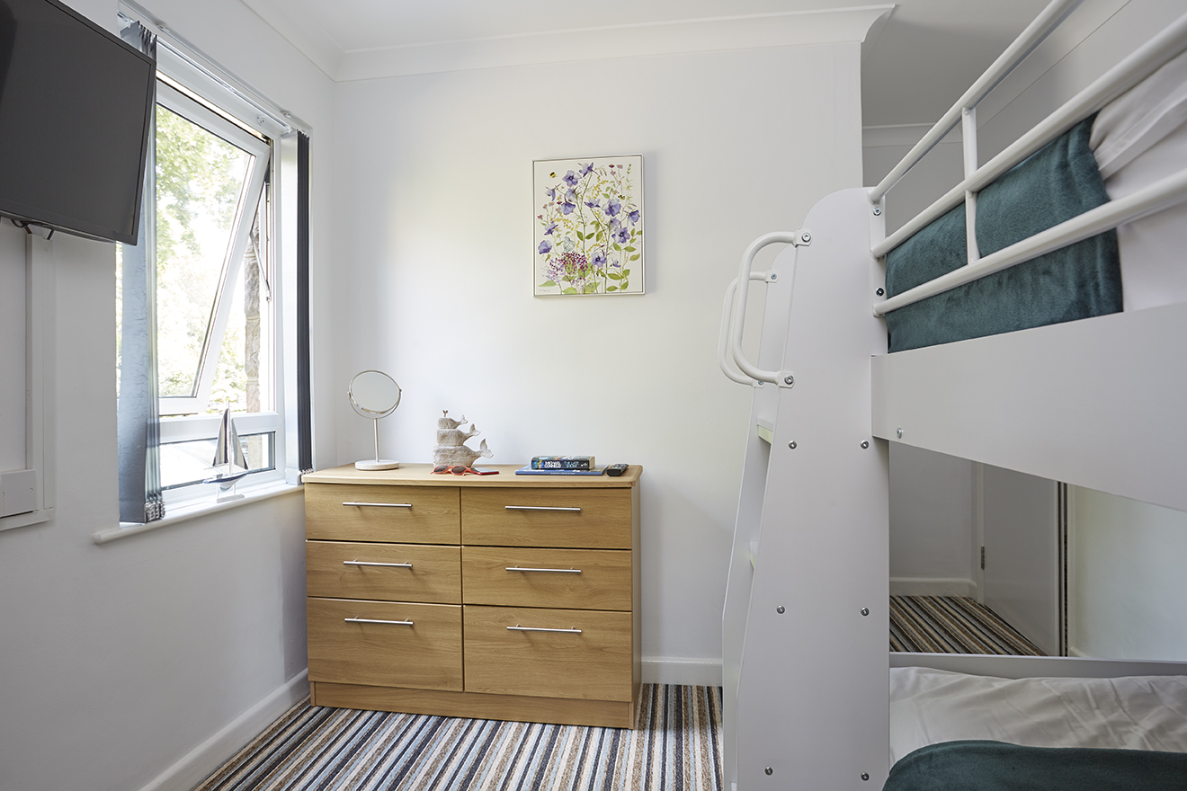 Chine Court Holiday Apartment Bunk Room, Shanklin, Isle of Wight
